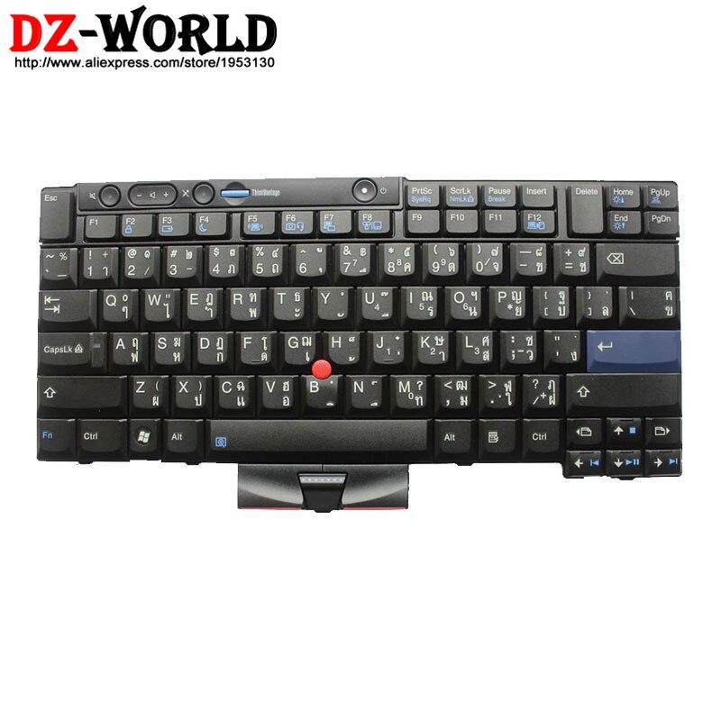 New original pour lenovo thinkpad x220 x220i x220t x220 tablet clavier thaïlande thai teclado 45n2175 45n2245 45n2105 45n2140