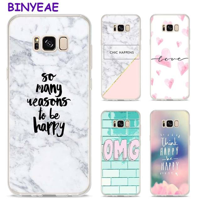 BINYEAE Chic Pink Marble Pretty Style Clear Soft TPU Phone Cases For...