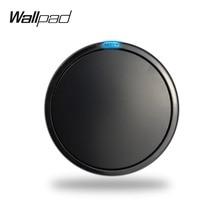 Wallpad L6 Modular Black White 1 Gang 1 Way Push Return Button Wall Light Power Switch DIY Free Combination стоимость
