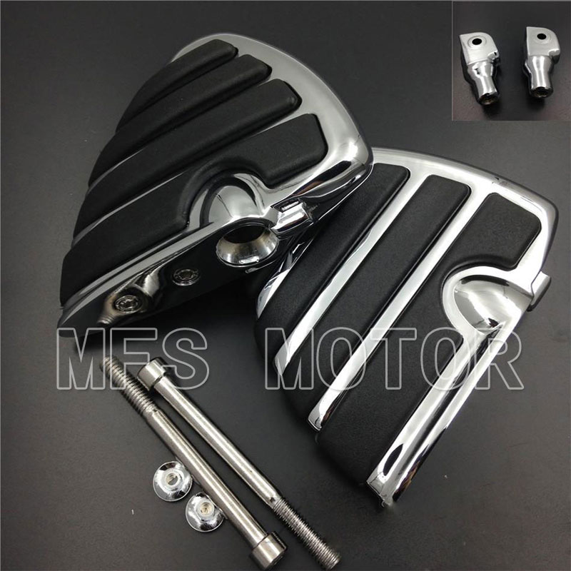 For Yamaha V-Star Road Star Royal Star Boulevaro VMax Virago Wing Motorcycle Rear Foot PegsFor Yamaha V-Star Road Star Royal Star Boulevaro VMax Virago Wing Motorcycle Rear Foot Pegs