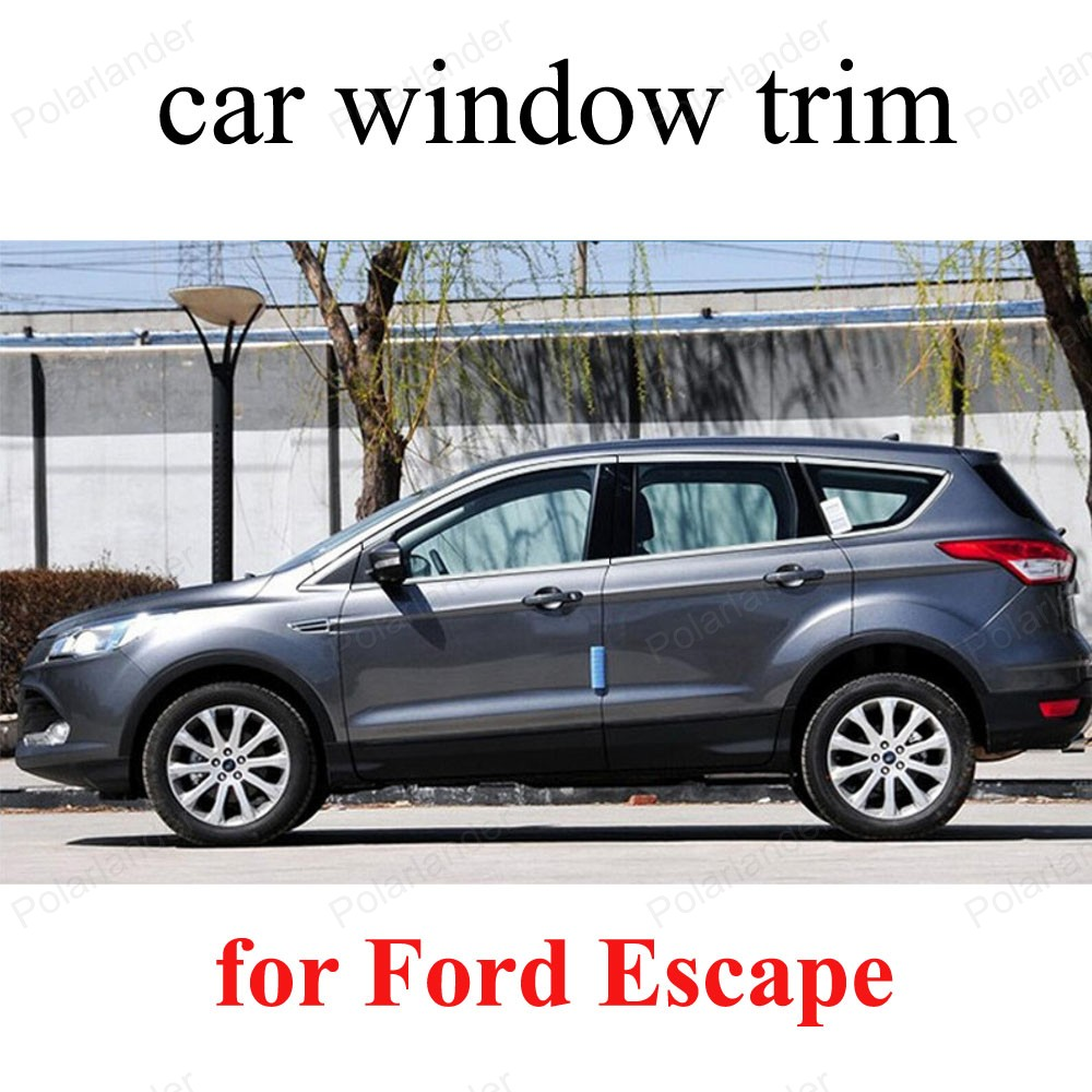 Window sill cover trim window frame stainless steel for ford escape car styling accessories in chromium styling from automobiles motorcycles on