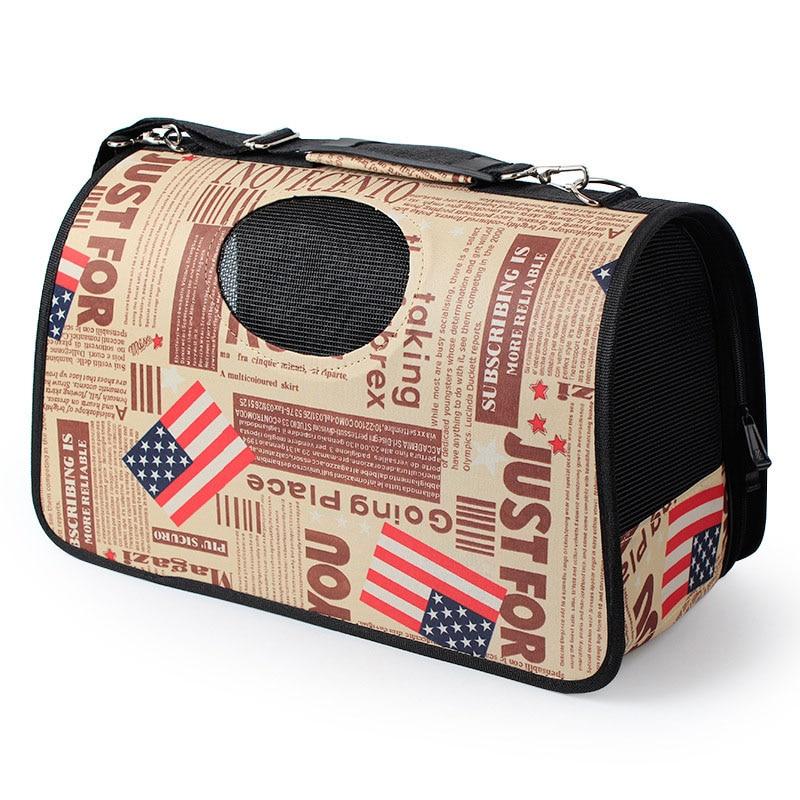 Pawstrip 6 Design Pet Dog Carrier Bag Chihuahua Travel Bag Outdoor Single Shoulder Bag For Small Dog Cat S/m/l #5