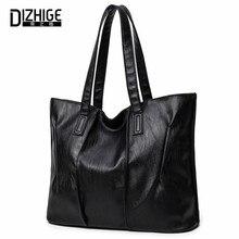 Dizhige marca de lujo bolsos de las mujeres bolsos de cuero del diseñador para las niñas bolsas de hombro negro de gran capacidad de las mujeres venta