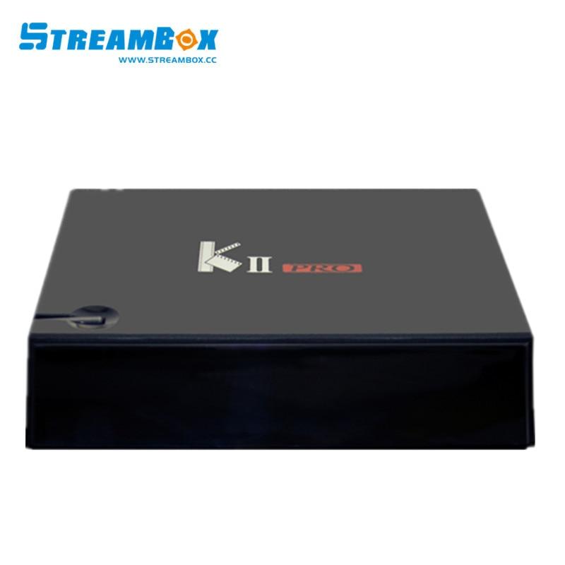 3pcs Android satellite receiver KII PRO DVB S2 DVBT2 Amlogic S905 Quad core Android TV BOX RAM 2GB Flash 16GB Wifi Bluetooth kii pro android tv box amlogic s905 media player 2g 16g dual wifi iptv dvb s2 t2 k2 pro satellite receiver ship from russian