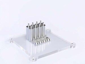 Image 3 - HIFI College KGU12 wykwintna akrylowa ramka wzmacniacza HIFI amp dekoder rama stojak przezroczysty sprzęt