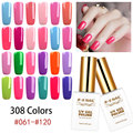 RS NAIL 15ml gel lacquer 308 colors unhas de gel led lamp nail art uv resin vernis semi permanent gel nail polish (2)