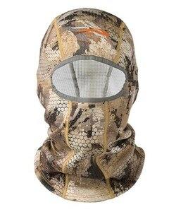 Image 1 - 2018 Sitka Hunting Core Heavyweight Balaclava Men Thick Fleece Mask Head Warm Camouflage USA Size OS Men Hat Male Cap