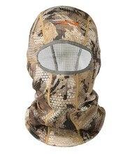 2018 Sitka Jagd Core Schwergewicht Balaclava Männer Dicke Fleece Maske Kopf Warm Camouflage USA Größe OS Männer Hut Männlichen Kappe