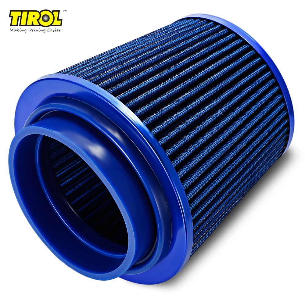 Selling Universal Car aluminum Air Filter Auto Cold Air Intake Adjustable Neck Vent Crankcase Breather Car Styling Accessaries