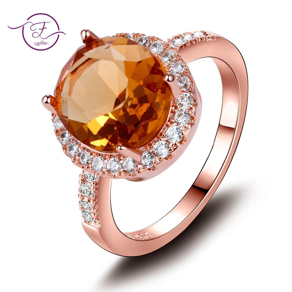 High Quality Luxury 925 Silver Rings for Women Champagne Gemstone Citrine Ring Romantic Gift Weeding Jewelry 10x12MM Size 6-10High Quality Luxury 925 Silver Rings for Women Champagne Gemstone Citrine Ring Romantic Gift Weeding Jewelry 10x12MM Size 6-10