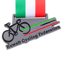 New design metal cycle bicycle race medal at factory price