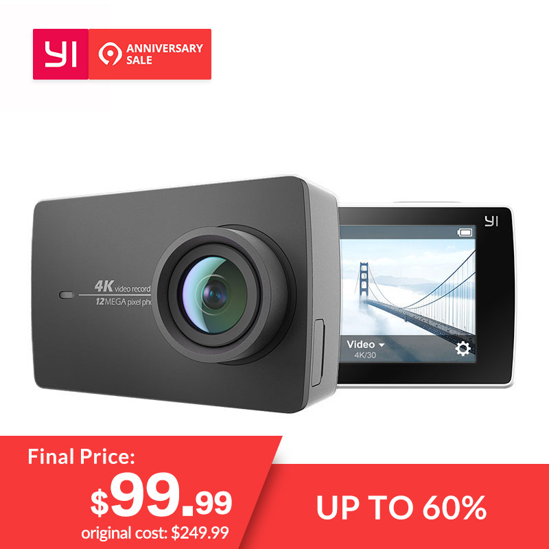 YI 4 K Action Kamera 2,19
