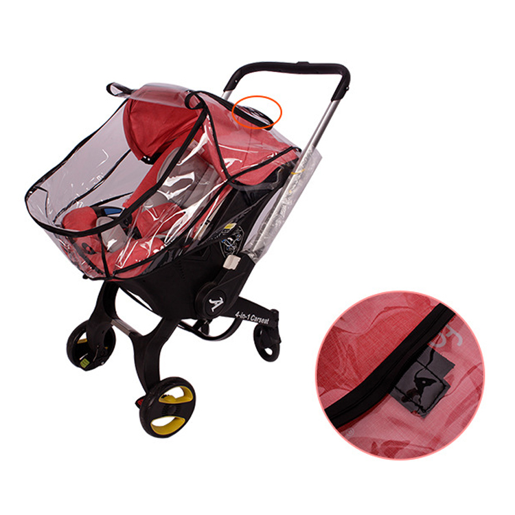 Image 5 - Baby strolle accessorie rain cover of high view pram baby car seat raincoat for foofoo strollerStrollers Accessories   -