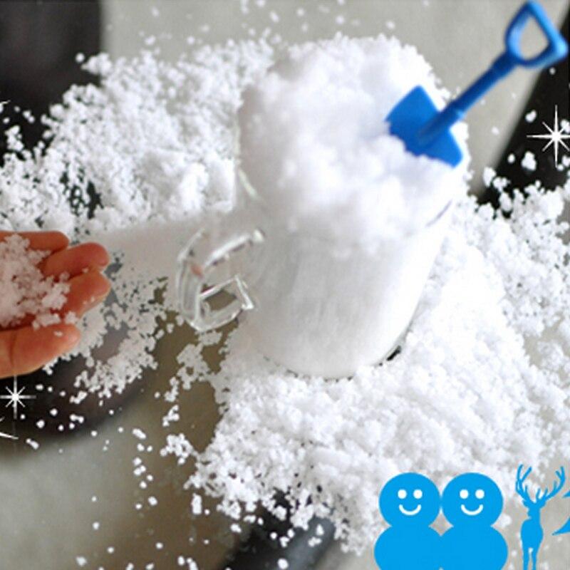 Gefälschte schnee pulver dekoration winter schleim pulver winter ...