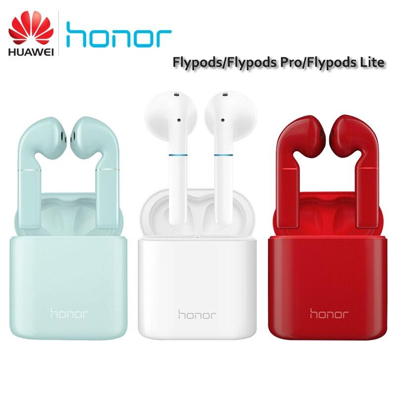 Original Huawei Honor FlyPods FlyPods Pro FlyPods Lite Bluetooth Wireless Earphone Mic Music Touch Waterproof Dynamic