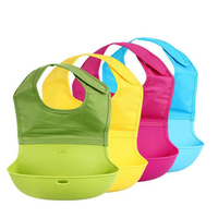 CTT Baby Bib Pocket Baby Bib Waterproof Stereo Dinner Dinner Bag