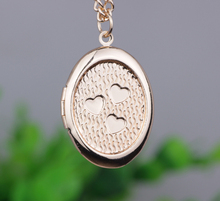 Ocean Seashore shell pendant, watch necklace can put images open and shut vogue Necklace for girls Jewellery N212