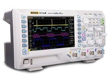 Rigol DS1104Z 4 Channels 100MHz Max 1GSa/s Digital Oscilloscope 25MHz Function Signal Arbitrary Waveform Generator USB
