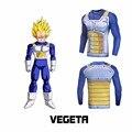 Clássico Anime Dragon Ball Z camisa 3D t Celular/Vegeta/Goku Estampas de Roupas Camisa De Manga Longa De Compressão de Fitness Tees