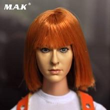 цены 1/6 Head Sculpt Kumik Toy Figure CG CY Girl Female Milla Jovovich Head Painted KUMIK15-6