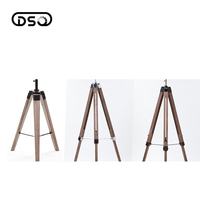 Wholesale Wood Floor Lampstand Vintage Style Tripod Accessories