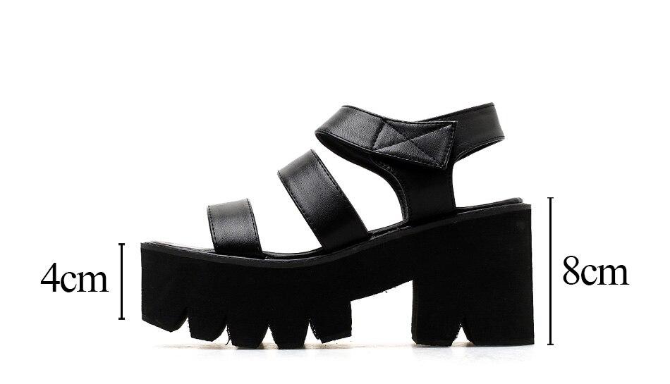 platform sandals woman