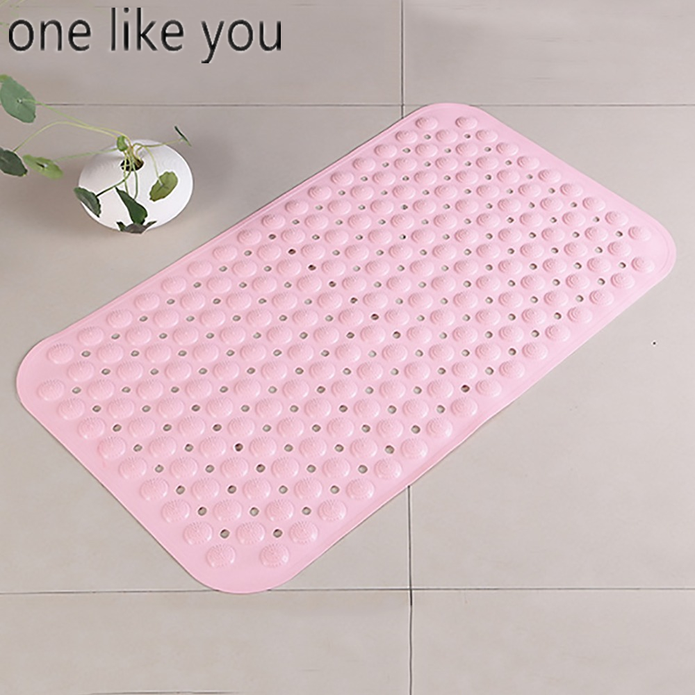 un comme vous grande taille tapis non slip fraise tapis de massage douche floral tapis - Tapie Salle De Bain Aliexpress