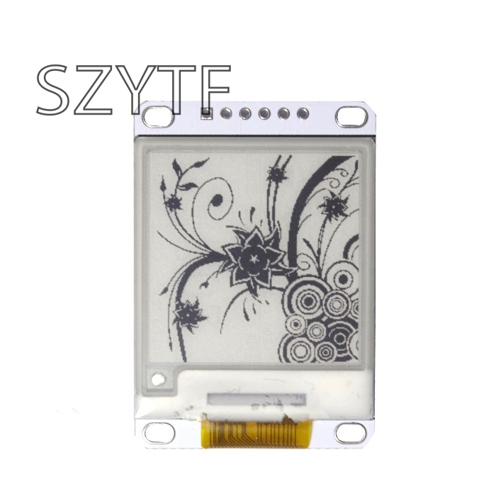 1.54 Inch E-Paper Module E-Ink Display Screen Module Black White Color SPI Support Global/Part Refresh Diy