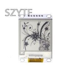 1.54 인치 전자 종이 모듈 전자 잉크 디스플레이 스크린 모듈 블랙 화이트 컬러 SPI 지원 글로벌/부품 새로 고침 Diy