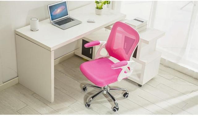 Bureau ordinateur chaises pliable accoudoir de d tail rose noir vert couleur pour s lection - Chaise de bureau pliable ...