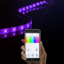 Zigbee LED Light Strip with Philips Hue and Homekit control Smart Home Phone APP Control(5M light strip+APP Controller)