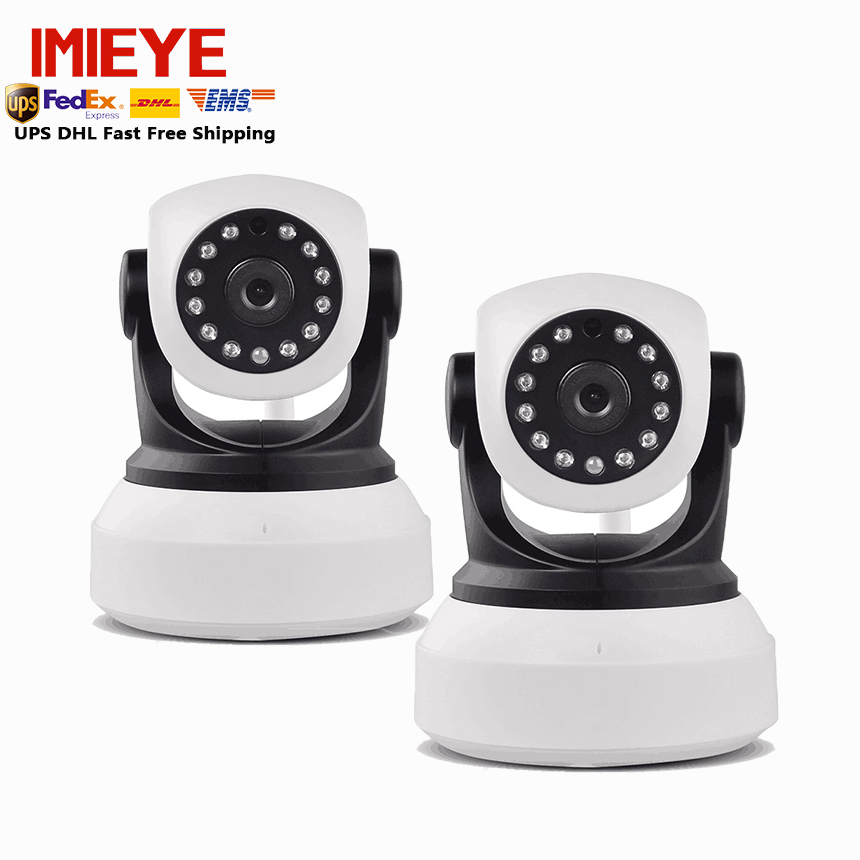 IMIEYE 720P 1.0 Megapixel Wireless IP Camera Wifi Ipcamera P2P Plug Play Micro SD TF Card Network Alarm Security IR-Cut Infrared 2015 vstarcam t6835 micro tf sd card security ip camera wireless wifi p2p plug