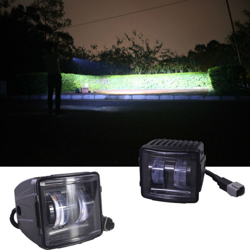 2 шт. 30 Вт светодио дный светодиодный рабочий свет вождения противотуманный луч рабочий свет внедорожный автомобиль авто свет 12 В в вождения...