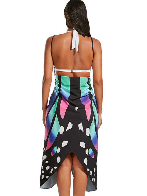 Women's Butterfly Wings Beach Cover Up 3