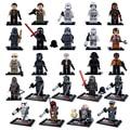 Single Sale Star Wars The Force Awakens Phasma Kylo Ren Boba Fett Darth Vader Building Blocks Bricks Figures Toys for Children