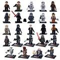 Sola Venta Star Wars The Force Despierta Phasma Kylo Ren Boba Fett Darth Vader Figuras Juguetes de Bloques de Construcción Ladrillos niños