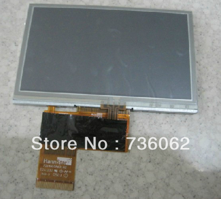 Original for Launch x431 diagun LCD display with touch screen digitizer touch panel free shipping