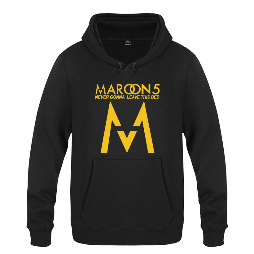 Maroon 5 Hoodie Cotton Winter Teenage Maroon 5 Logo Sweatershirt Pullover Hoody With Hood For Men Women