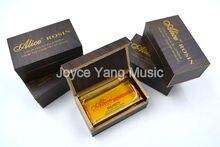 Alice A013C Violin Viola Cello Strings Advanced Viosin Orchestra High Quality Resin Black Peach Wood Box Free Shipping