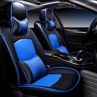 Специальный кожаный Автокресло Чехлы для Audi A6L R8 Q3 Q5 Q7 S4 RS Quattro A1 A2 A3 A4 A5 A6 a7 A8 автомобилей крышка аксессуары