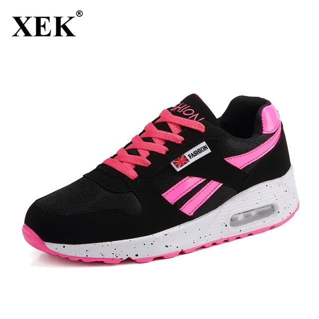 New spring summer sneakers respirant chaussures de sport lacets chaussures de course femme JAskb