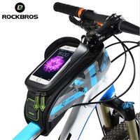 ROCKBROS 5 8 6 Bicycle Front Top Tube Bag Cycling Bike Frame Pack Bag For Smart