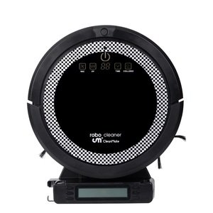 Image 4 - WiFi Smartphone App Control  Wet And Dry Mop Smart Vacuum Cleaner Robot QQ6 With Water Tank,3350MAH Lithium battery