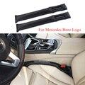 2X Car Seat Gap Plug Seat Leak Cover Decoration For Mercedes Benz AMG W211 W221 W220 W163 W164 W203 W204 C E SLK GLK CLS GL Logo