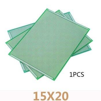 1pcs 15*20cm Double Side Prototype Glass Fiber Board PCB Universal Board Circuit Protoboard