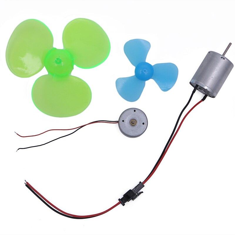 Приятно 1 шт. миниатюрный dc ветер Мощность турбины модель демонстрация учебного пособия привод вентилятора для Генераторы