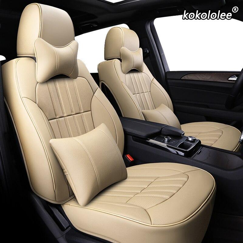 Housse de siège de voiture en cuir sur mesure kokolololee pour CHANGAN CS35 CS75 CS15 CS95 CS55 Benben EV MINI LOVE Yuexiang V3 V5 V7 CX20