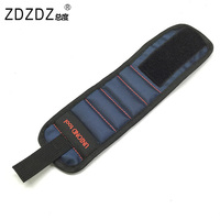 Tool Bag Electrician Tool Bags 5 PCS Magnetic Wristband With Strong Magnets For Holding Screws Nails