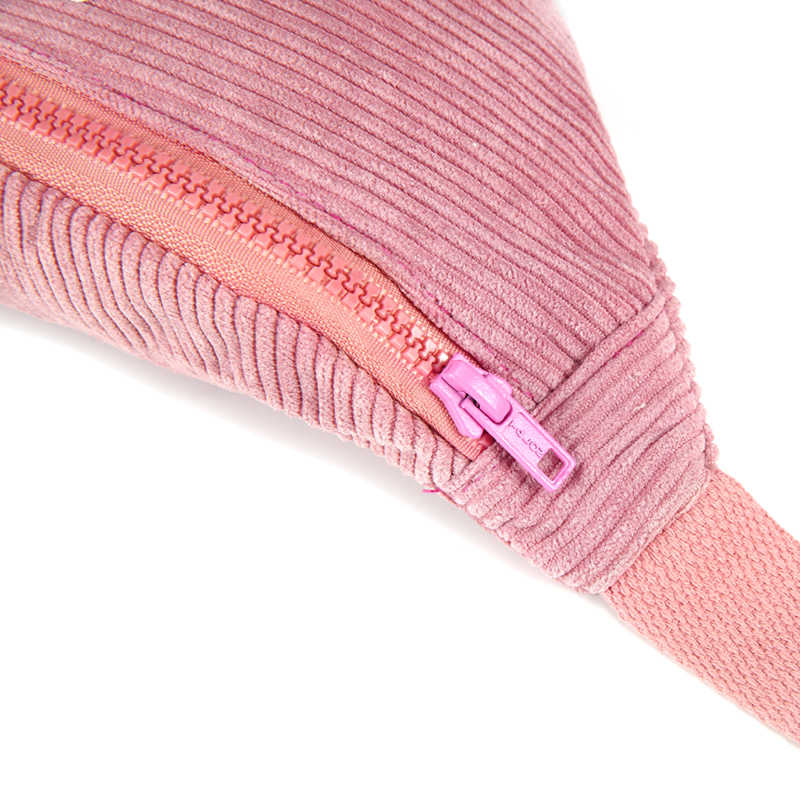Annmouler Vrouwen Heuptas Roze Patchwork Borst Zak Meisjes Fanny Pack Zoete Ster Taille Pack Corduroy Telefoon Pouch Belt Bag geschenken