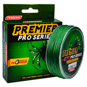 Image 1 - Ocean Rock Fishing 4 Stands 4 Weaves 6LB 100LB Japan Braided Wires Spectra 100M Pe Braided Fishing Line Green Super Pe Line B4
